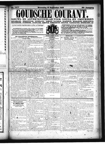 Goudsche Courant 1929-09-18