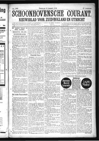 Schoonhovensche Courant 1926-01-11