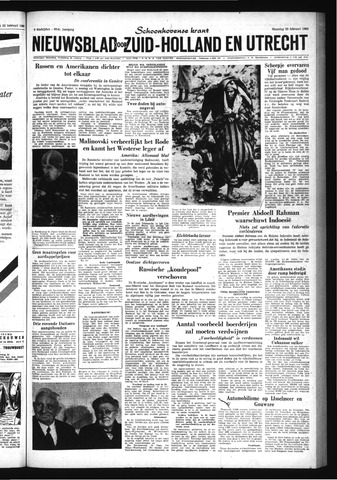 Schoonhovensche Courant 1963-02-25