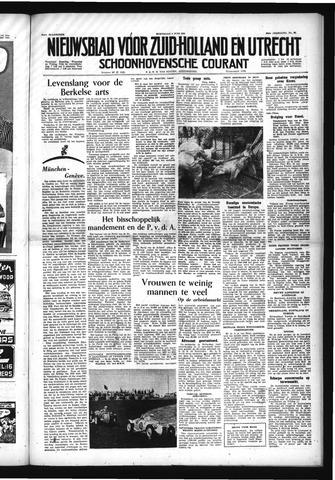 Schoonhovensche Courant 1954-06-09