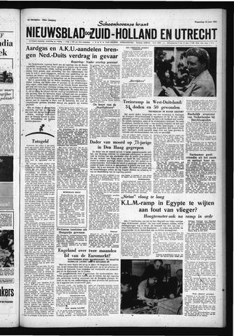 Schoonhovensche Courant 1961-06-14