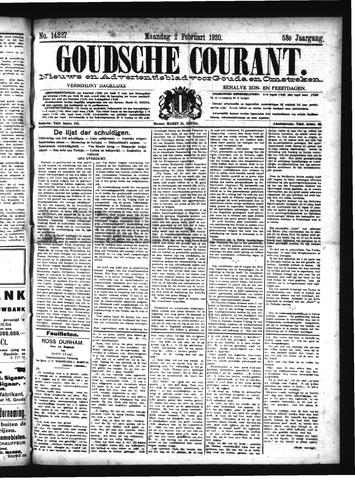 Goudsche Courant 1920-02-02