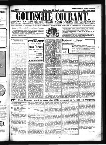 Goudsche Courant 1930-04-26