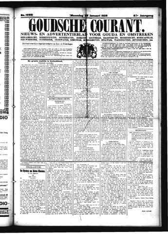 Goudsche Courant 1929-01-28
