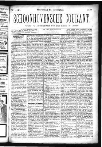 Schoonhovensche Courant 1919-12-10