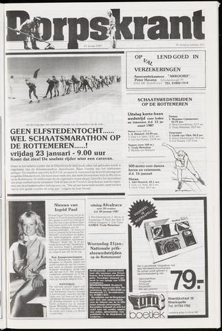 Dorpskrant 1987-01-21