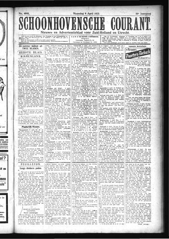 Schoonhovensche Courant 1923-04-09