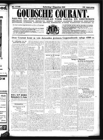 Goudsche Courant 1931-08-01