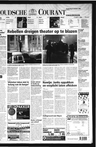 Goudsche Courant 2002-10-24