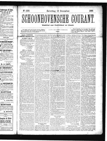 Schoonhovensche Courant 1890-12-13
