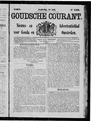 Goudsche Courant 1863-07-30