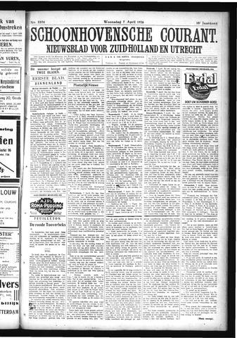 Schoonhovensche Courant 1926-04-07
