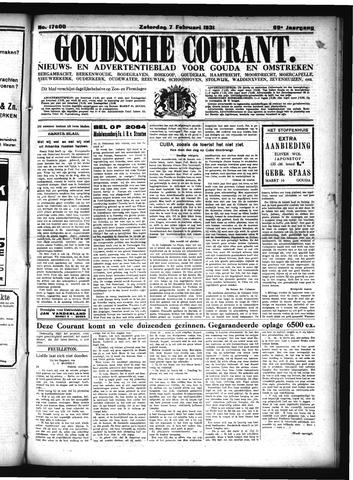 Goudsche Courant 1931-02-07