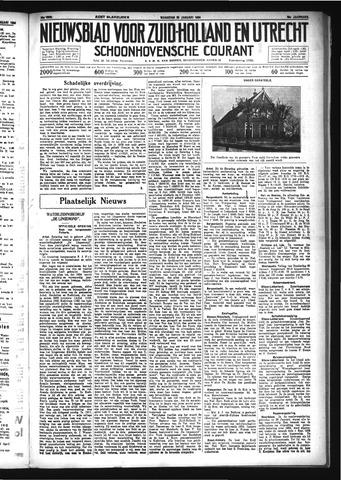 Schoonhovensche Courant 1934-01-29