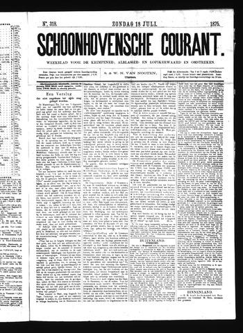 Schoonhovensche Courant 1875-07-18