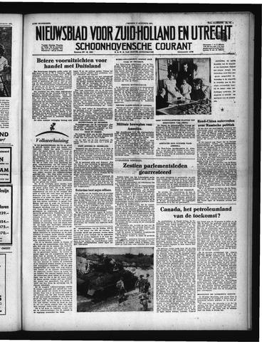 Schoonhovensche Courant 1951-08-17