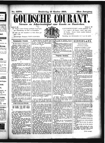 Goudsche Courant 1910-10-13