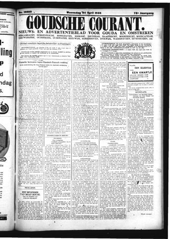 Goudsche Courant 1935-04-24