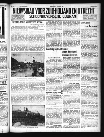 Schoonhovensche Courant 1940-08-14