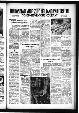 Schoonhovensche Courant 1953-04-01