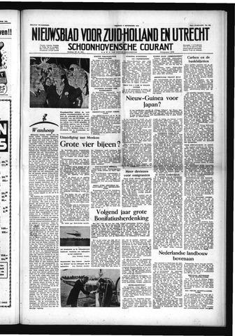 Schoonhovensche Courant 1953-09-04