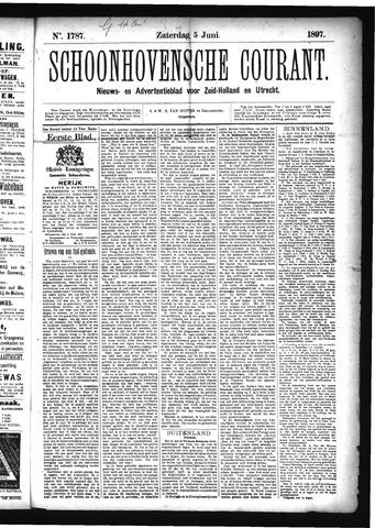 Schoonhovensche Courant 1897-06-05