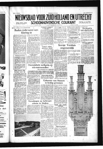 Schoonhovensche Courant 1956-06-27