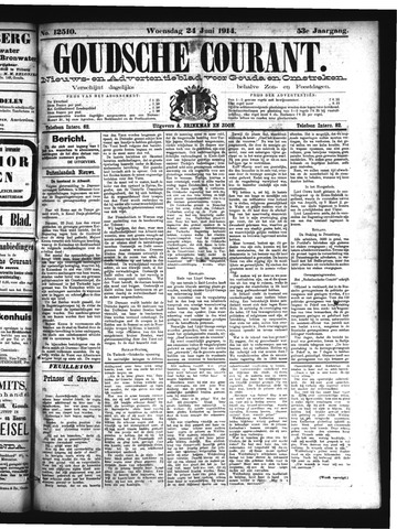 Goudsche Courant 1914-06-24