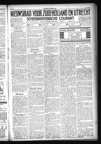 Schoonhovensche Courant 1929-10-23