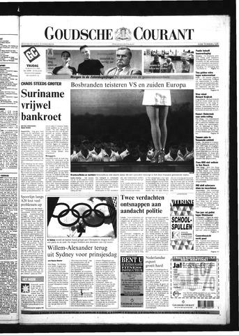 Goudsche Courant 2000-08-25