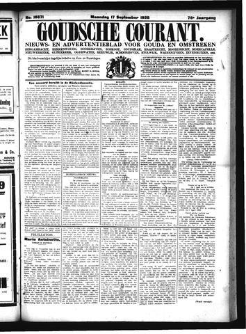 Goudsche Courant 1928-09-17