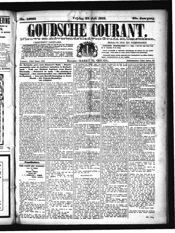 Goudsche Courant 1919-07-25