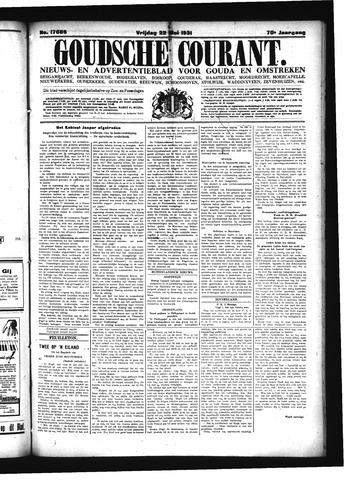 Goudsche Courant 1931-05-22
