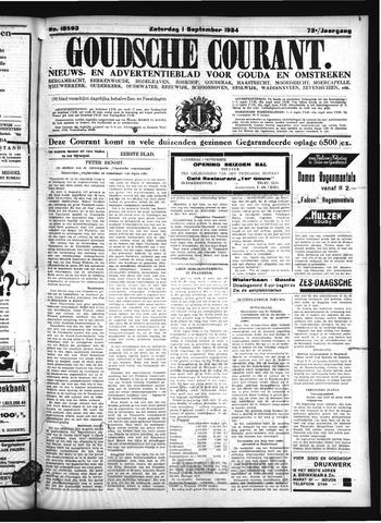 Goudsche Courant 1934-09-01