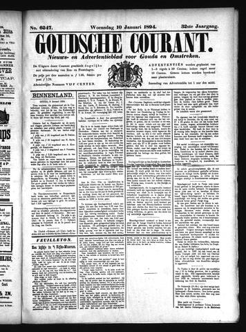 Goudsche Courant 1894-01-10