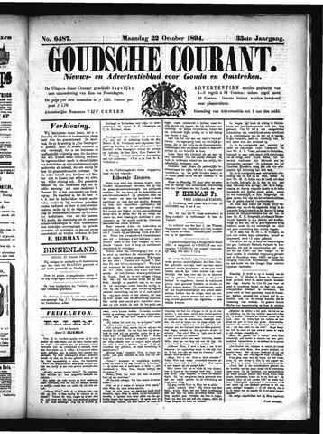 Goudsche Courant 1894-10-22