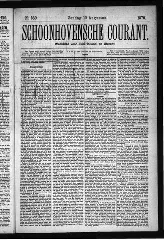 Schoonhovensche Courant 1879-08-10