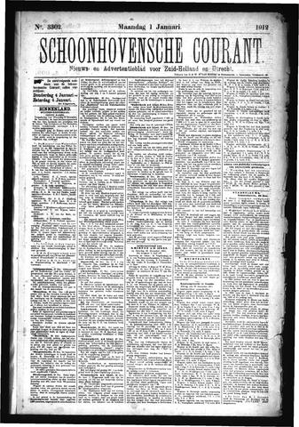 Schoonhovensche Courant 1912