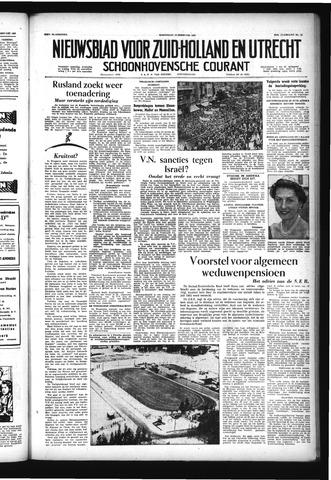 Schoonhovensche Courant 1957-02-13