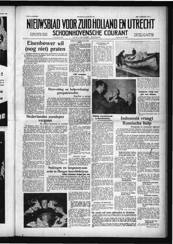 Schoonhovensche Courant 1958-01-13