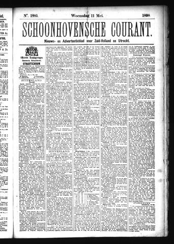 Schoonhovensche Courant 1898-05-11