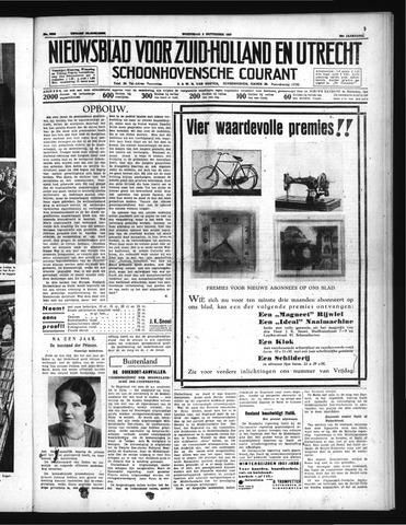 Schoonhovensche Courant 1937-09-08