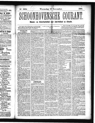 Schoonhovensche Courant 1901-11-27