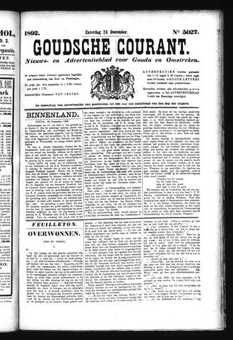 Goudsche Courant 1892-12-24