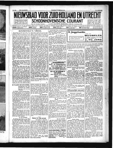 Schoonhovensche Courant 1939-02-22