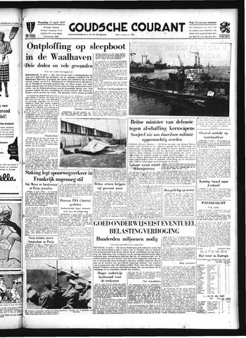 Goudsche Courant 1957-04-17