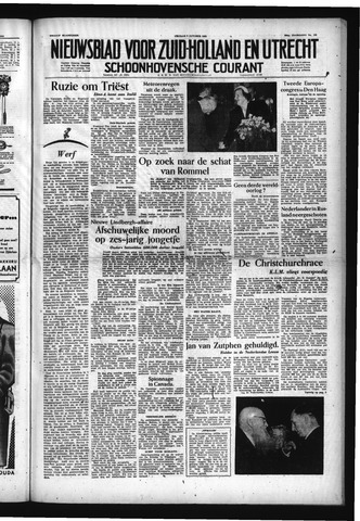 Schoonhovensche Courant 1953-10-09