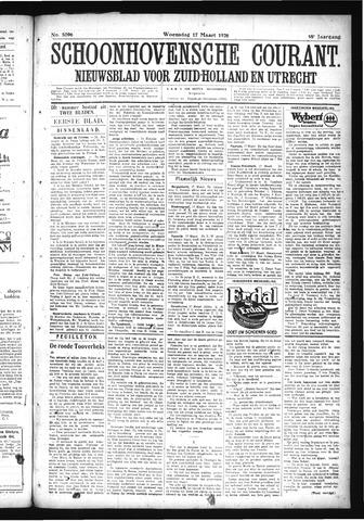 Schoonhovensche Courant 1926-03-17
