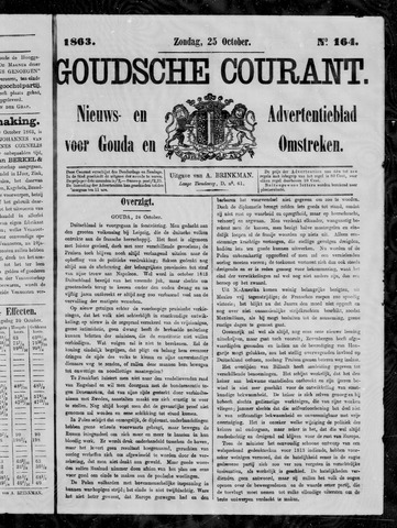 Goudsche Courant 1863-10-25