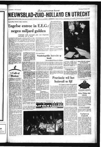 Schoonhovensche Courant 1971-01-27